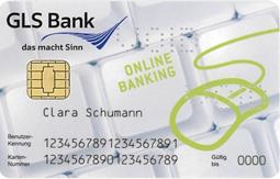 GLS Onlinebanking Karte